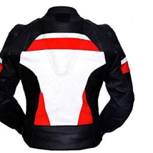 Motorcycle-genuine-leather-safety-pads-racing-jacket