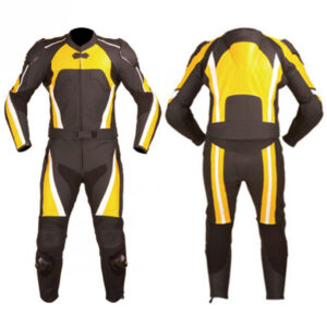awesome-motorbike-2pc-yellow-black-leather-suit