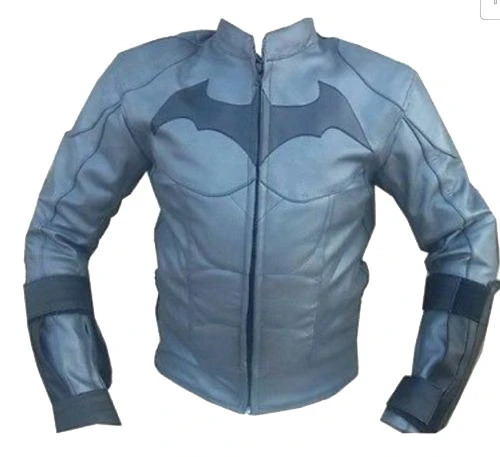 Batman motorcycle jacket with armor protection
