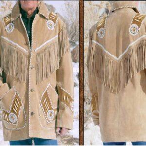 beige-buckskin-suede-leather-fringes-native-american-coat