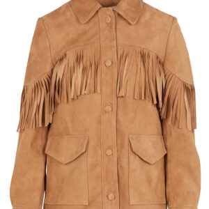 beige-fringed-suede-leather-jacket-with-classic-collar