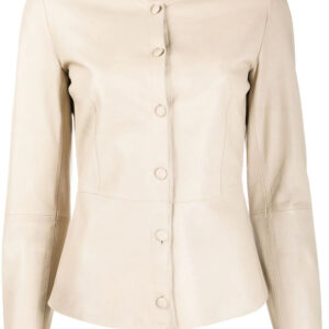 beige-lambskin-leather-short-jacket