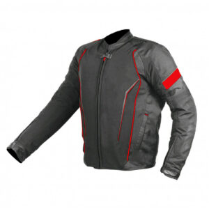Black And Red Motorcycle Jacket