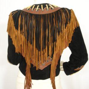 black-buckskin-native-american-suede-leather-fringes-biker-jacket