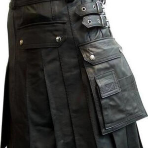 black-faux-leather-kilt-with-twin-cargo-pockets
