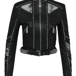 black-lambskin-spike-studded-biker-jacket
