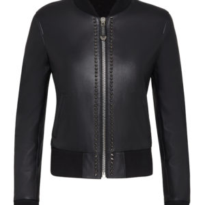 black-leather-studded-bomber-jacket