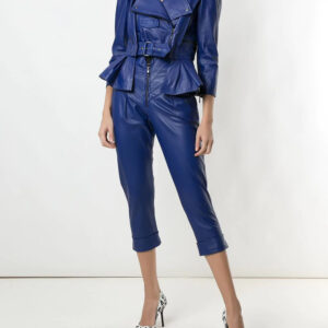 blue-cropped-leather-peplum-biker-jacket