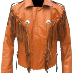 brown-genuine-leather-western-native-american-fringed-beaded-jacket