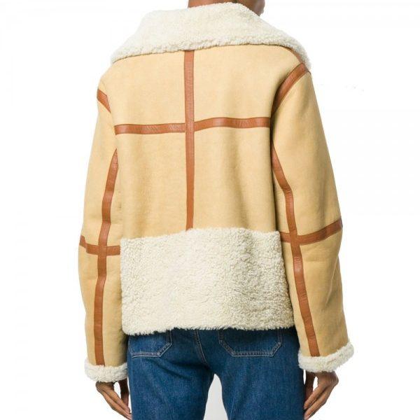 camel-brown-oversized-zipped-aviator-fur-leather-jacket