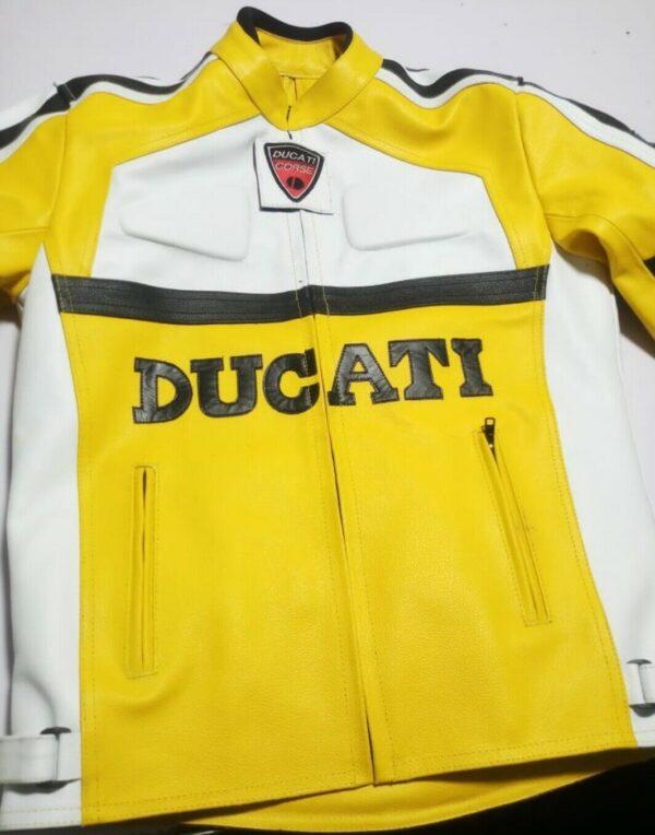 ducati-brand-yellow-motorbike-leather-jacket