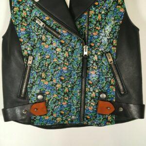 hand-painted-floral-biker-vest