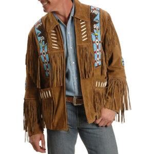liberty-wear-eagle-bead-fringed-leather-jacket