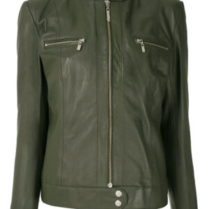 military-green-biker-leather-jacket
