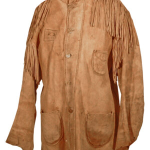 native-american-brown-buckskin-suede-leather-fringes-shirt
