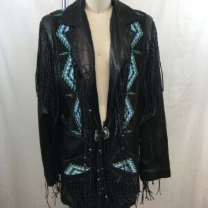 new-native-american-black-leather-beads-fringes-western-jacket