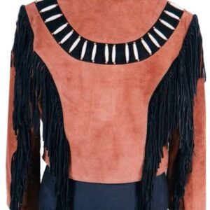 new-native-american-brown-buckskin-suede-leather-black-fringes-jacket