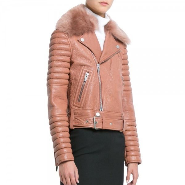 pink-bomber-style-biker-leather-jacket