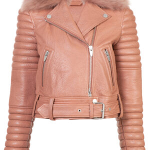 pink-bomber-style-biker-leather-jacket
