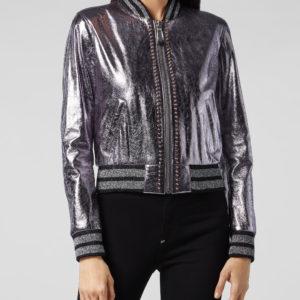 lilac-bomber-studded-biker-jacket