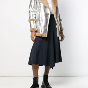 silver-tone-metallic-fur-lambskin-leather-coat