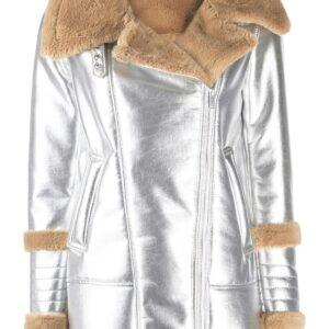silver-tone-metallic-fur-lambskin-leather-coat
