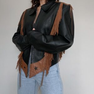 star-western-fringe-leather-jacket