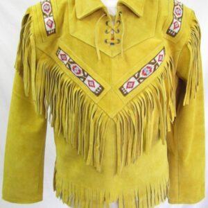 western-fringes-beads-cowboy-leather-jackets