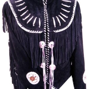 western-native-american-style-black-buckskin-suede-leather-fringes-jacket