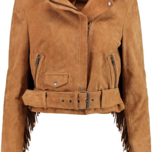 western-tan-suede-leather-fringe-biker-jacket