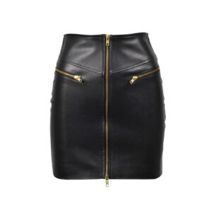 asymmetric-leather-skirts-zipper