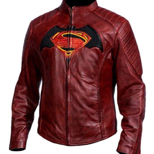 batman-vs-superman-maroon-leather-jacket