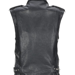 black-calfskin-studded-biker-leather-vest