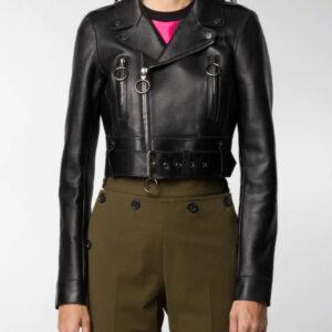 black-cropped-biker-leather-jacket