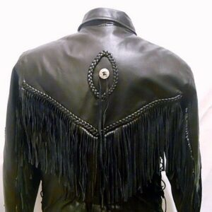 black-leather-fringe-biker-jacket