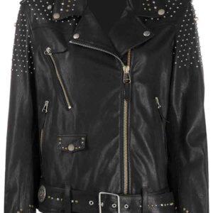 black-leather-silver-studded-biker-jacket