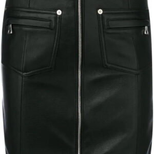 black-zipped-leather-skirt