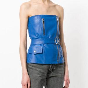 blue-zipped-leather-biker-top