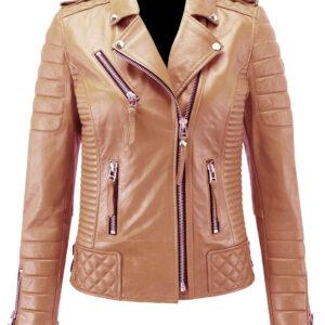 camel-beige-genuine-leather-biker-jacket