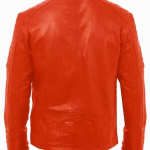 cool-orange-colour-leather-jacket-for-men