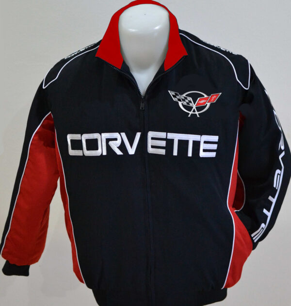 corvette-c5-wind-breaker-black-and-red-jacket
