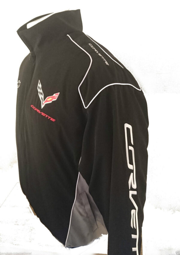 corvette-c7-wind-breaker-black-jacket