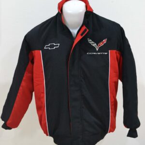 corvette-red-and-black-wind-breaker-jacket