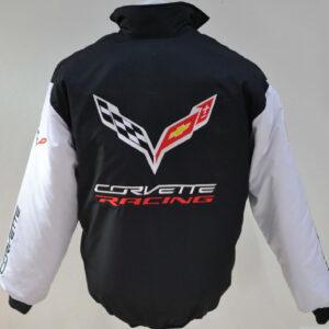 corvette-white-and-black-wind-breaker-jacket