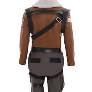 Fortnite Rapto Gaming Brown Jacket