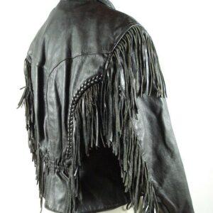 fringe-leather-black-biker-jacket