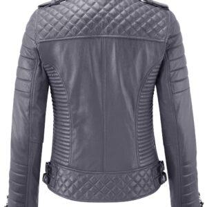 gray-genuine-lambskin-leather-biker-jacket