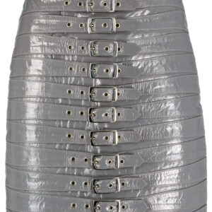 grey-leather-buckle-detail-biker-mini-skirt