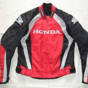 honda-red-black-motorcycle-leather-safety-pads-jacket