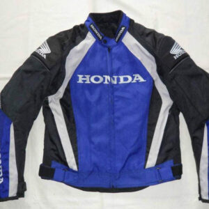honda-red-blue-motorcycle-leather-safety-pads-jacket